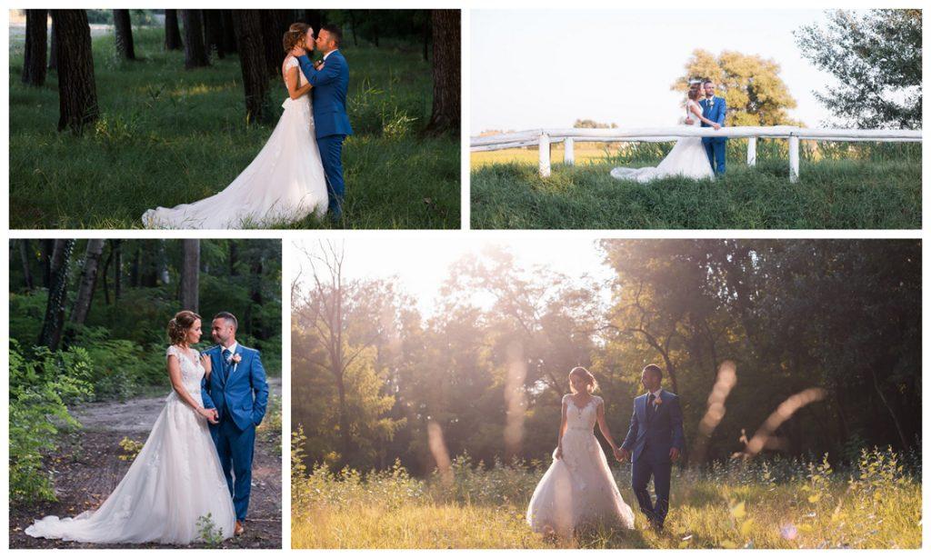 Esküvő fotózás Bács-Kiskunk megyében