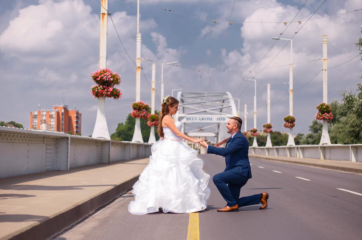 Esküvő fotózás Szegeden